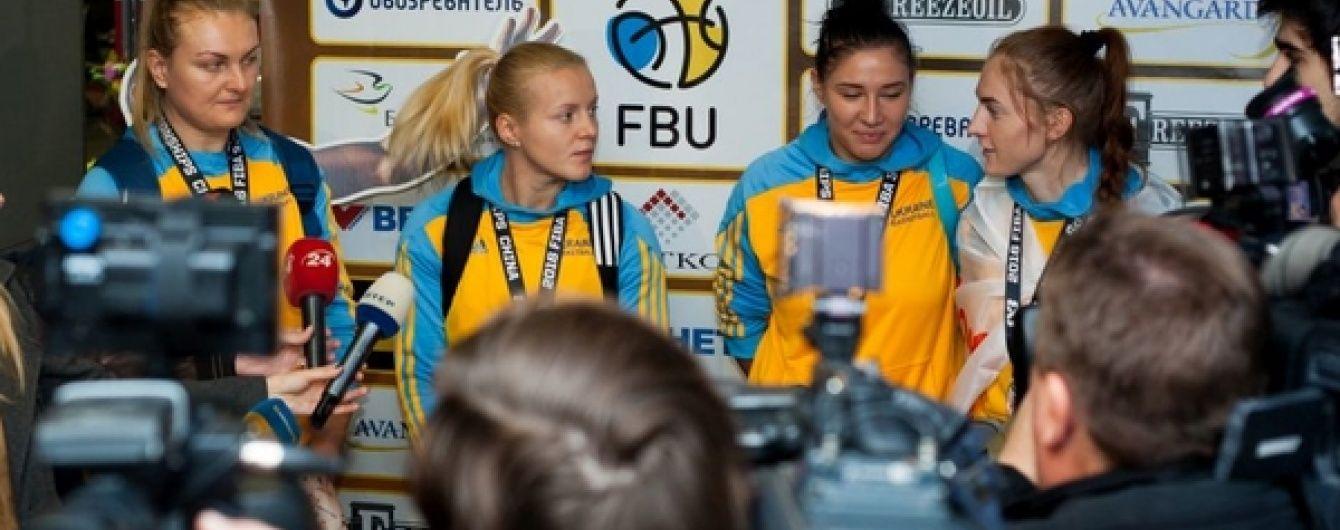 Українських фіналісток чемпіонату світу з баскетболу 3х3 урочисто зустріли в Борисполі
