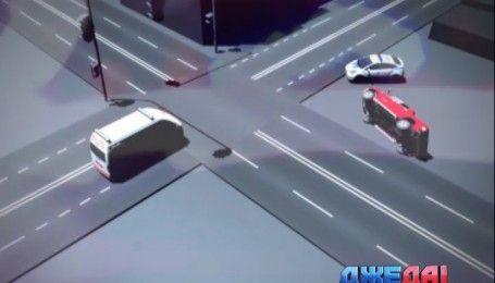 В Николаеве патрульное авто столкнулось с внедорожником