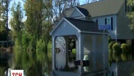 У Південній Кароліні будинки стоять у воді по вікна