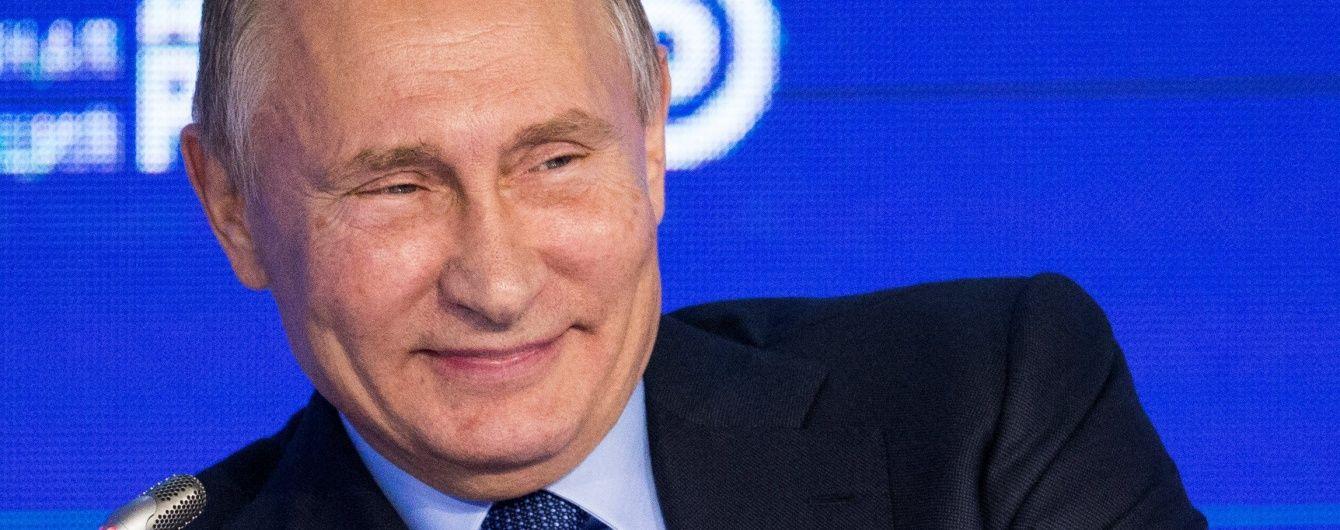 """Путін заявив, що липецька фабрика """"Рошен"""" виводить прибутки за кордон"""