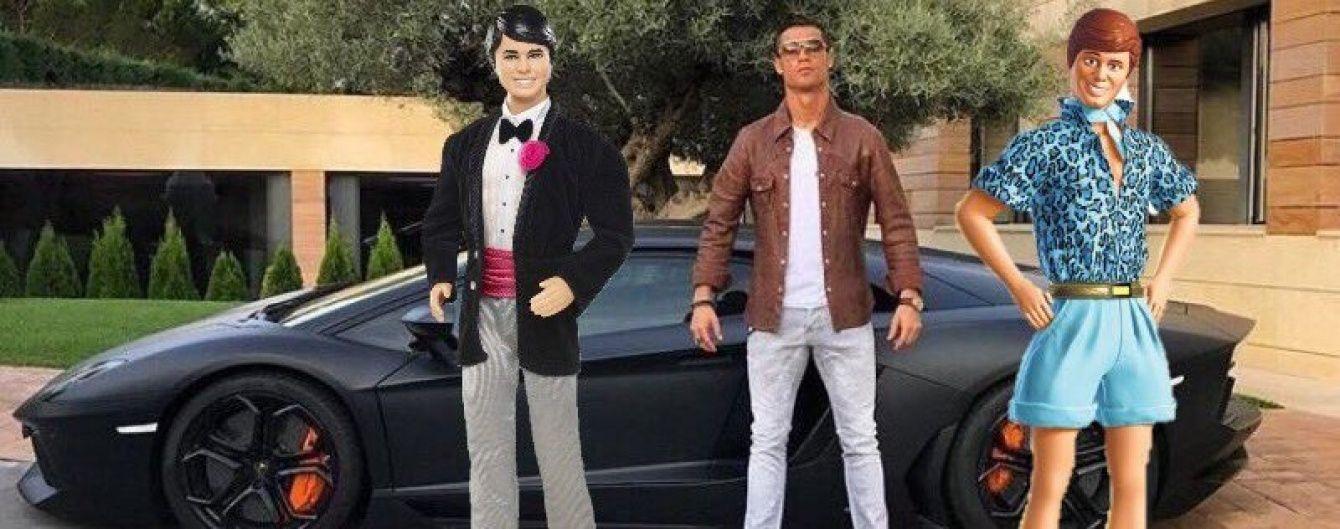 Фанаты затроллили Роналду за фотографию с роскошным Lamborghini Aventador