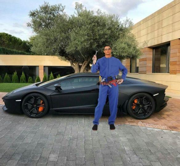 Кріштіану Роналду і Lamborghini меми_3