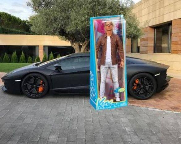 Кріштіану Роналду і Lamborghini меми_5