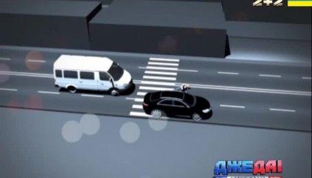 В Николаеве маршрутчик избил школьника за то, что тот перешел дорогу на красный свет