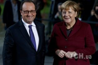 """Меркель назвала прогрессом договоренности """"нормандской четверки"""""""
