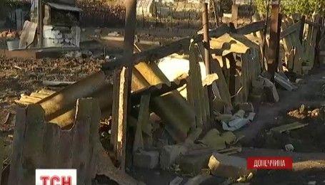 Минимум полдюжины вражеских снарядов разорвались на окраине Мариуполя