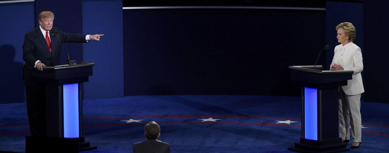 Останні дебати вивели виборчу кампанію в США на фінішну пряму