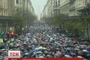 Тисячі аргентинців вийшли на протест через зґвалтування та смерть 16-річної дівчини