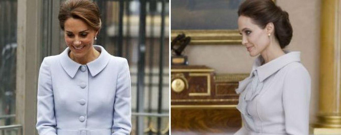 Герцогиня Кембриджская повторила образ Анджелины Джоли