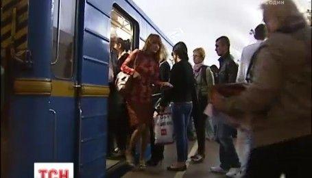 В Киеве остановили одну ветку метро