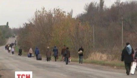 Вплотную к линии разграничения открыли новый КПП в городе Майорск