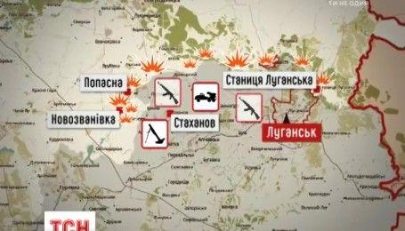 """150 мінометних пострілів, """"Град"""" та гаубиці: бойовики здійснили потужні обстріли українських позицій"""
