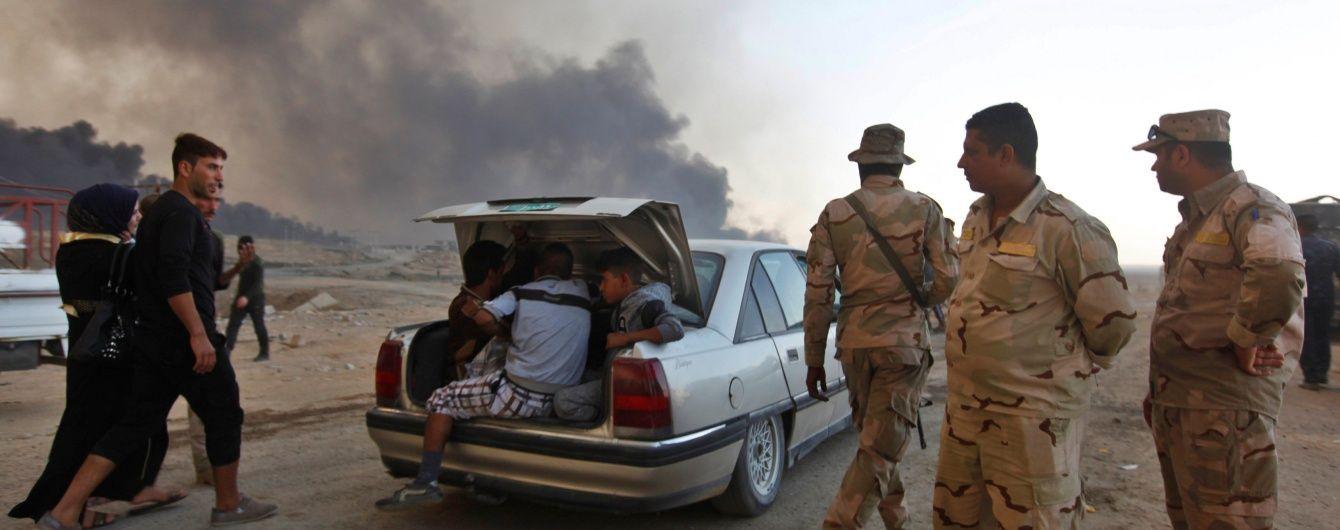 Бойовики ІД підпалили нафтові свердловини біля Мосула