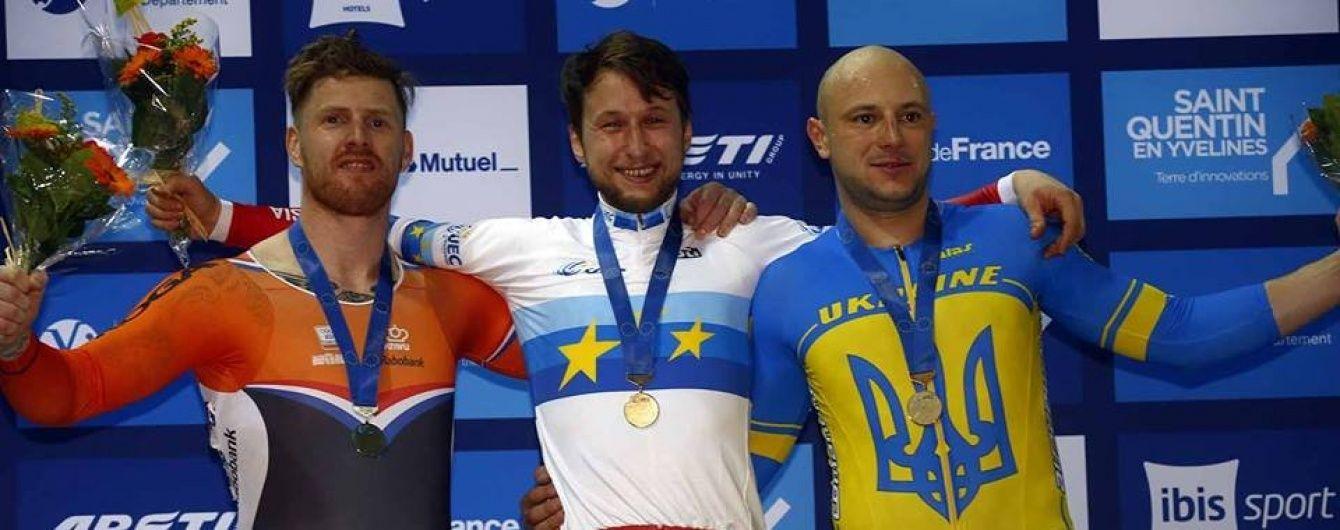 """Українці здобули """"золото"""" та """"бронзу"""" на чемпіонаті Європи з велотреку"""