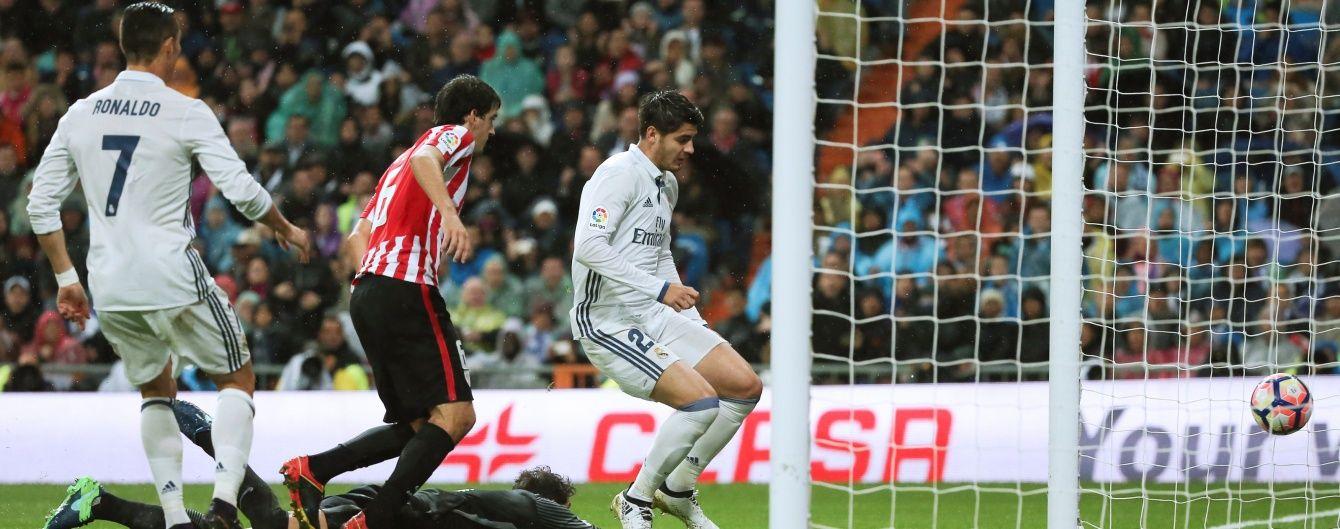 """""""Реал"""" дотиснув """"Атлетик"""" та повернувся на перше місце чемпіонату Іспанії"""