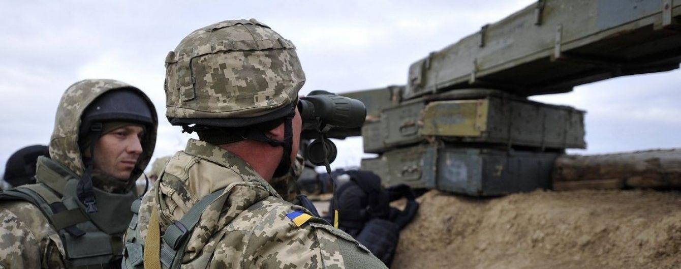 На Луганщині ДРГ бойовиків намагалась прорвати оборону сил АТО, загинув військовий