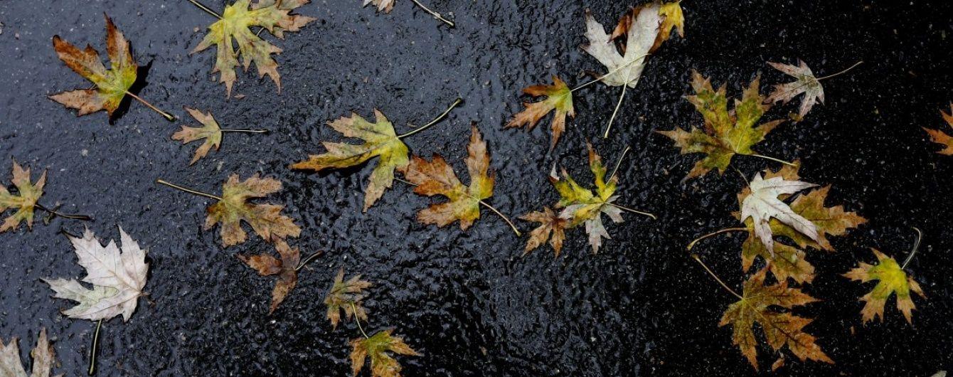 Четвер принесе в Україну дощ, мокрий сніг, туман і навіть сонце. Прогноз погоди на 27 жовтня