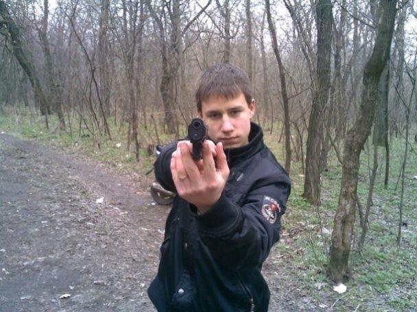 """У Мережі знайшли фото юності бойовика-наступника """"Мотороли"""""""