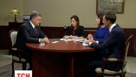 Порошенко рассказал, когда Украина получит безвизовый режим
