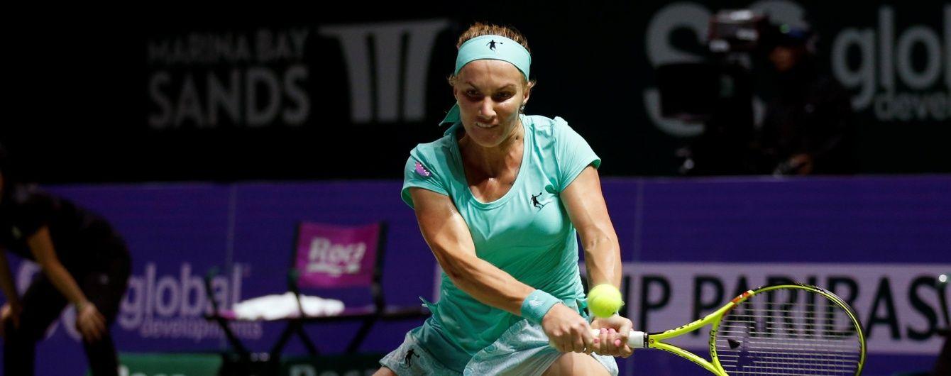 Російська тенісистка підстригла волосся просто під час матчу