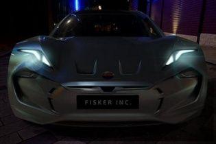 Fisker показала очередной тизер новой модели