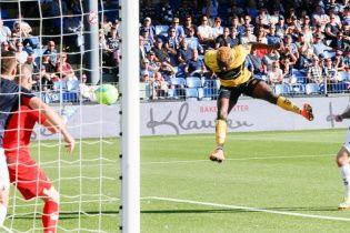 Форвард норвежского клуба сглупил и отпраздновал гол возле фанатов соперника