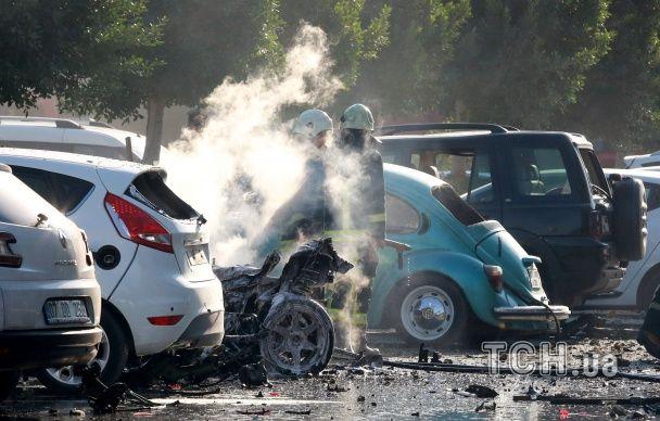 З'явилися фото та відео з місця вибуху на курорті Туреччини
