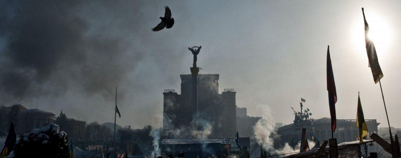 На Майдані силовики забирали в людей шини, але активістам вдалося їх запалити - ЗМІ
