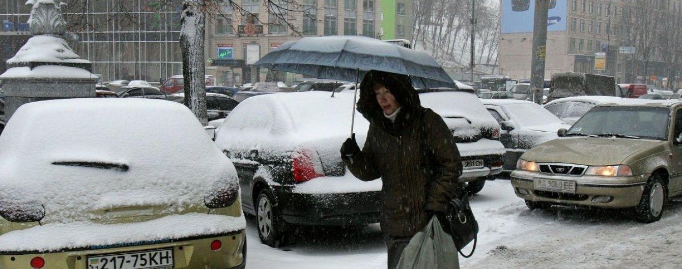 Північна Україна зустрічає перший подих зими аваріями електромереж