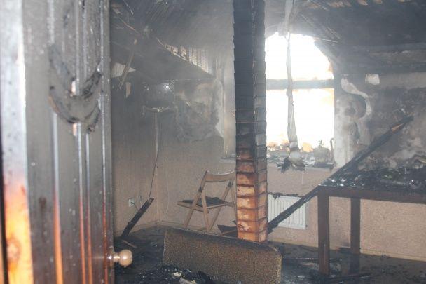 У Полтаві горів мотель, є постраждалі