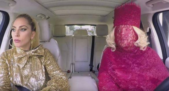 Леді Гага та Джеймс Корден