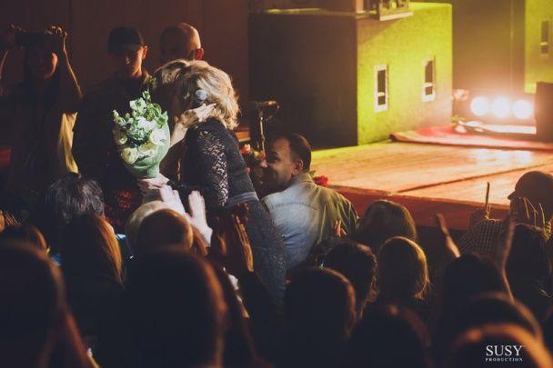 LOBODA показала маму і сестру під час концерту в Житомирі