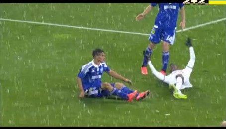 Динамо - Зоря - 1:1. Відео голу Рафаеля Форстера з пенальті