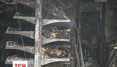 В Березани взорвался продовольственный магазин