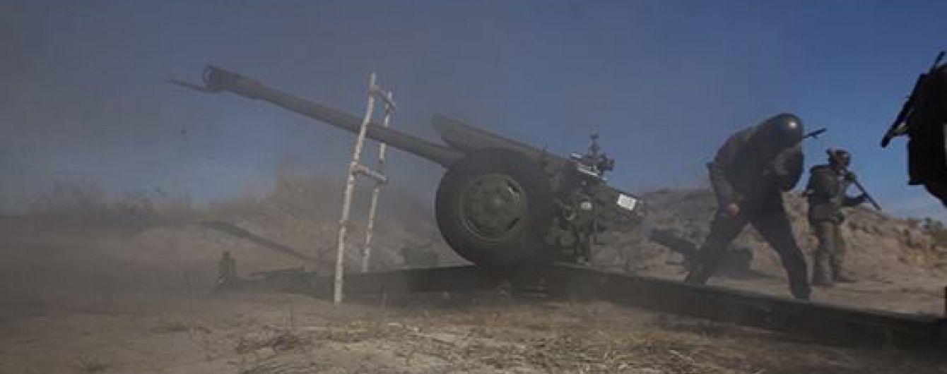 Доба у зоні АТО: інтенсивні обстріли в районі Бахмутської траси, пошкодження фільтрувальної станції