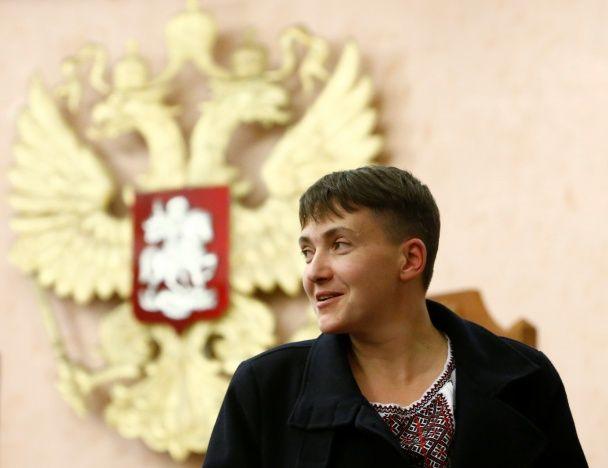 Найяскравіші фото дня: розбита зірка Трампа, Надія Савченко у Москві