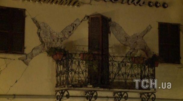 Серія землетрусів струсонула Італію: одне містечко повністю зруйноване, є жертви
