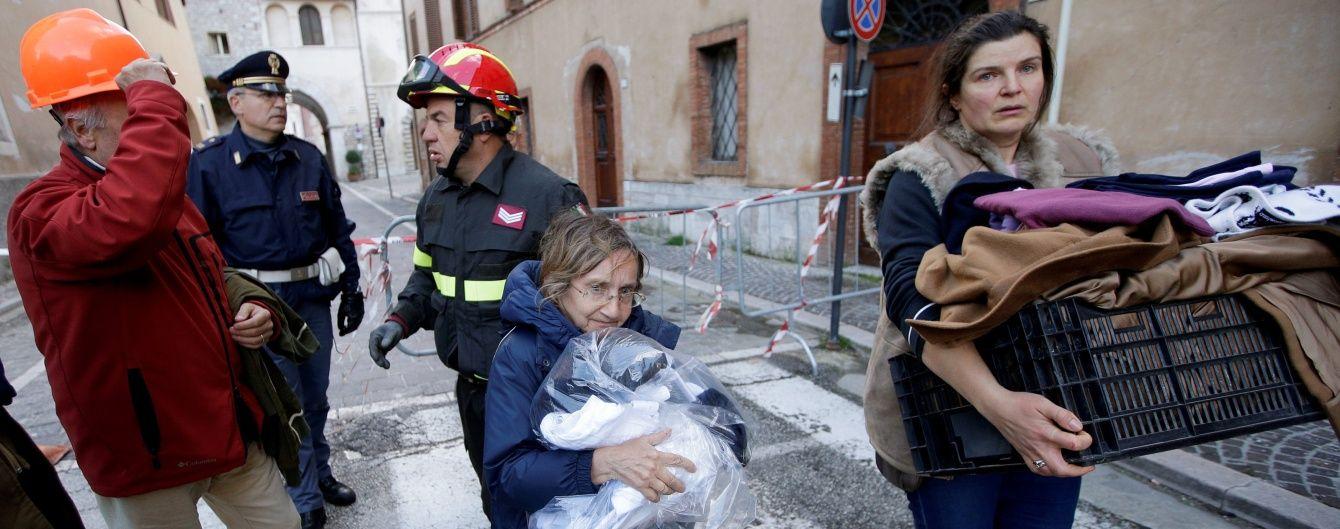Уряд Італії виділив 40 млн євро на допомогу потерпілим від землетрусу