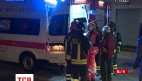 В центральной части Италии произошло еще одно мощное землетрясение