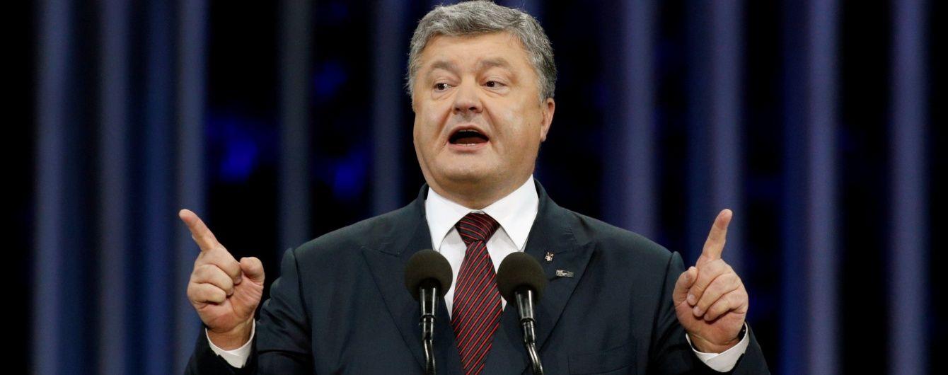 Підписані Порошенком антиросійські санкції набрали чинності лише через півмісяця. Повні списки
