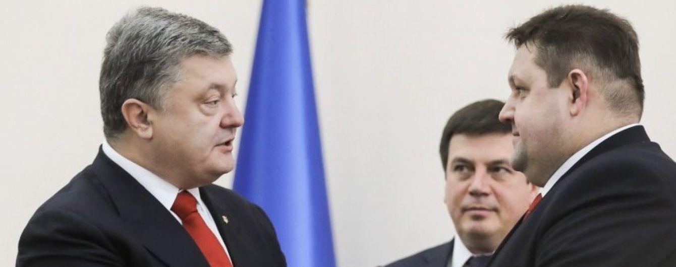 Порошенко представив нового очільника Житомирщини