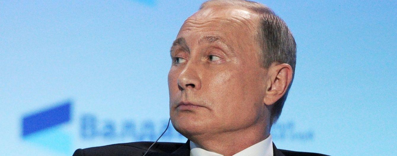 Путін прокоментував обліт російського лайнера швейцарськими винищувачами