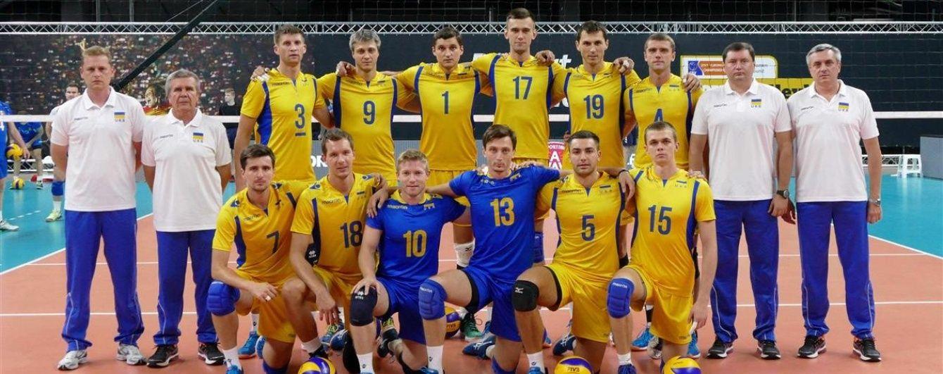 Чоловіча та жіноча збірні України з волейболу дізналися суперників у відборі до ЧС-2018