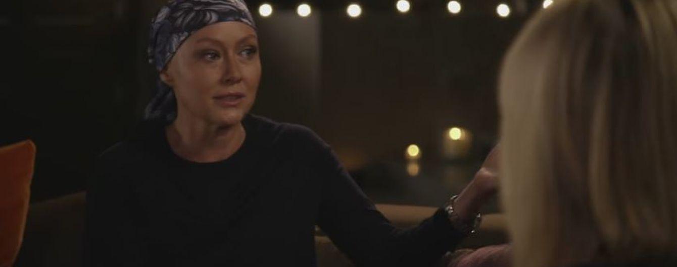 Шеннен Догерті довела до сліз телеведучу під час розмови про рак
