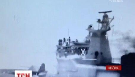 Мексиканська поліція та морські піхотинці затримали наркоторговців у відкритому океані