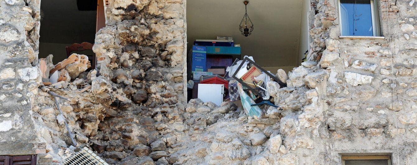 В Італії стався новий потужний землетрус