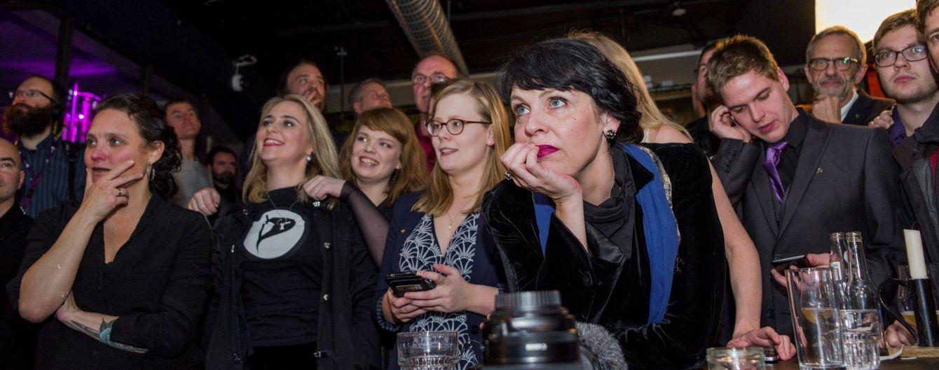 Піратська партія не виправдала очікувань на дострокових виборах в Ісландії