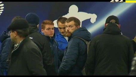Ультрас Динамо встретились с игроками после матча с Зарей