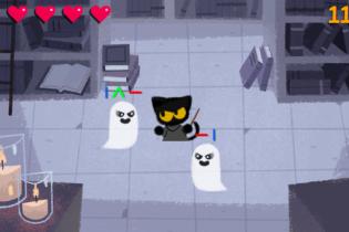 Дуель магічного кота з привидами: Google запустив онлайн-іграшку напередодні Геловіна