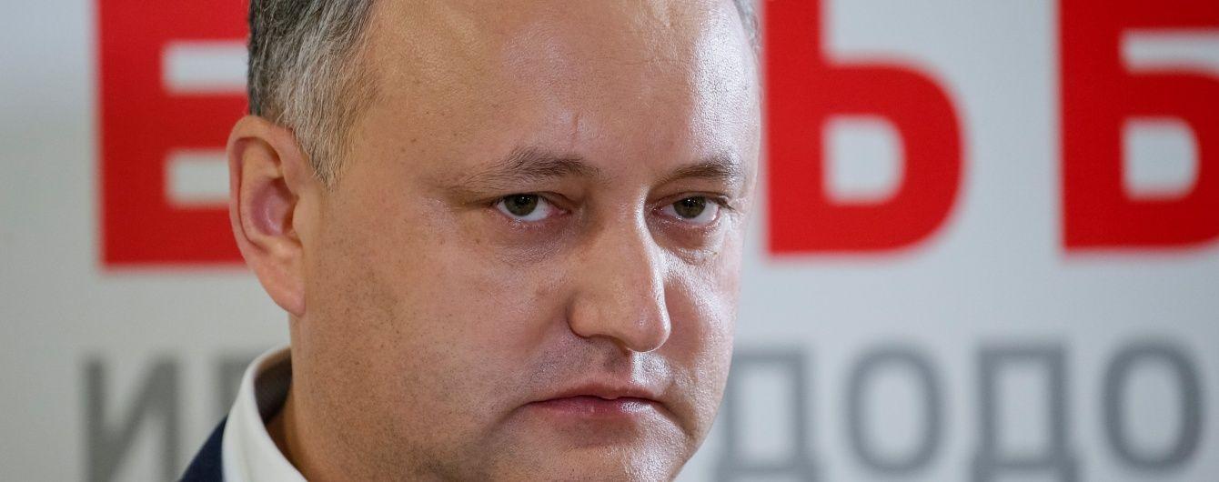Стали відомі попередні результати виборів президента Молдови